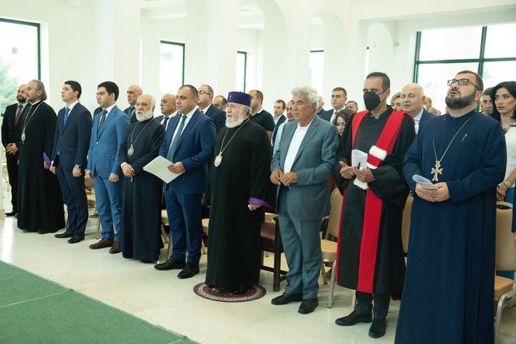 ՍԴ նախագահը մասնակցել է «Եկեղեցին և սահմանադրական մշակույթը» խորագրով շնորհանդեսին