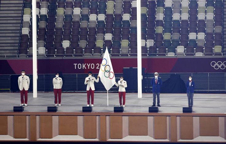 Տոկիոյում հանդիսավոր արարողությամբ ընթերցել են օլիմպիական երդումը