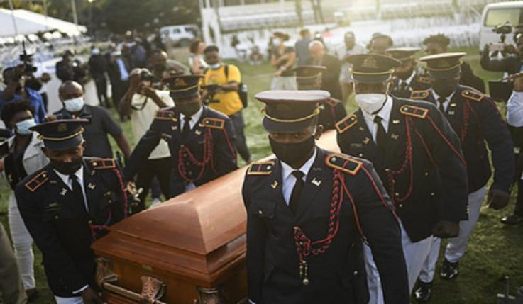 Հրաձգություն է սկսվել Հայիթիի նախագահի հուղարկավորության ժամանակ