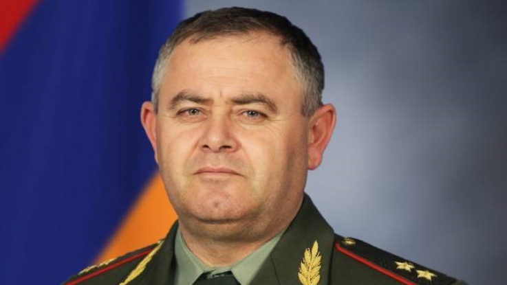 ՀՀ ԶՈւ ԳՇ պետն ընդունել է ՀՀ-ում Բուլղարիայի ռազմական կցորդին