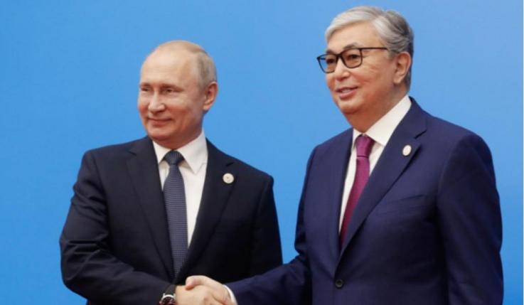 Պուտինը և Ղազախստանի նախագահը քննարկել են տարածաշրջանին վերաբերվող խնդիրներ
