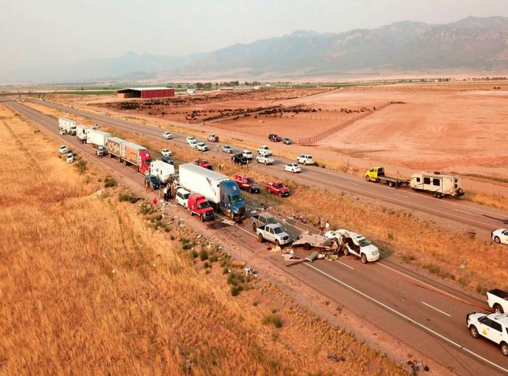 Ավազե փոթորիկը ԱՄՆ-ում շղթայական ավտովթարի պատճառ է դարձել. կա 7 զոհ
