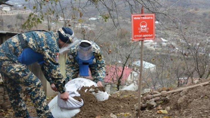 Վարանդայի շրջանում տարհանվել է ևս 3 աճյուն