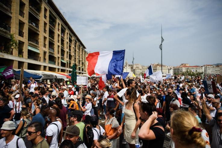 Ֆրանսիայում կորոնավիրուսային անձնագրի վերաբերյալ օրենք է ընդունվել