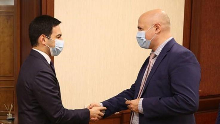 ՊԵԿ նախագահը ՎԶԵԲ գրասենյակի ղեկավարի հետ քննարկել է մաքսային վարչարարության ոլորտում համագործակցության հարցեր