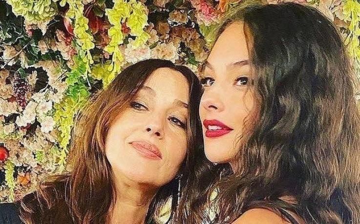 Մոնիկա Բելուչին՝ դստեր հետ․ ֆոտո