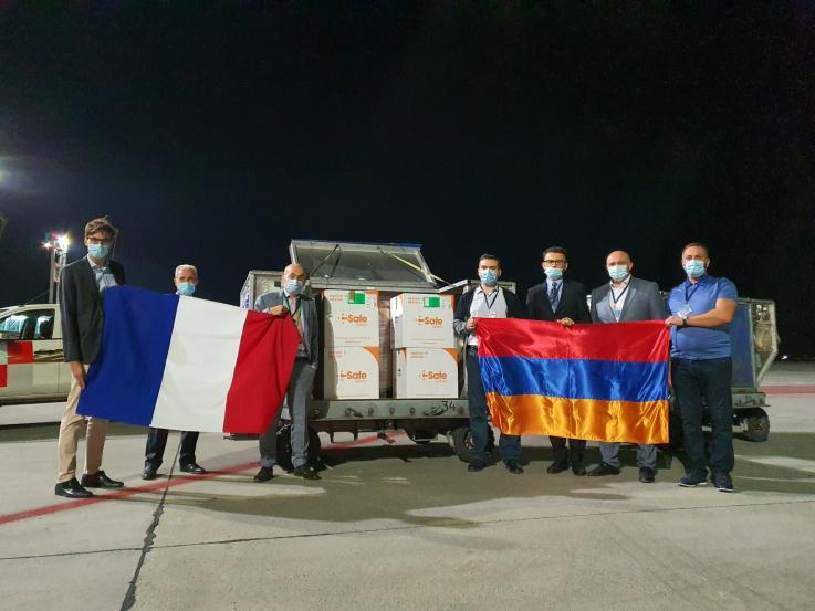 Երևան է հասել Ֆրանսիայի կողմից ուղարկված COVID-19 պատվաստանյութի 25 000 դեղաչափ պարունակող առաջին խմբաքանակը