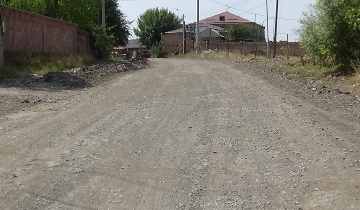 Արթիկ-Անուշավան-Փանիկ ավտոճանապարհին կատարվում են հիմնանորոգման աշխատանքներ