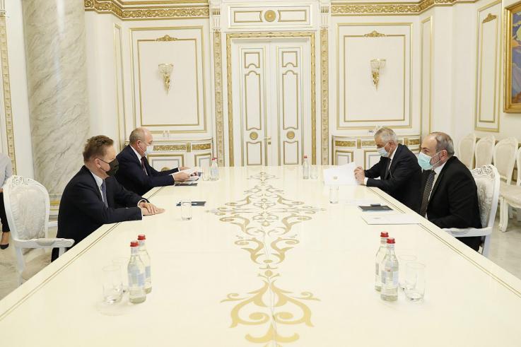 Նիկոլ Փաշինյանը և Ալեքսեյ Միլլերը քննարկել են հայ-ռուսական էներգետիկ գործընկերության հարցեր