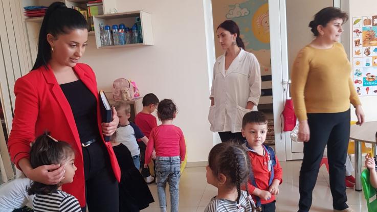 Արցախի ՄԻՊ աշխատակազմի ներկայացուցիչները այցելել են Հադրութի «Դիզակ» մանկապարտեզ