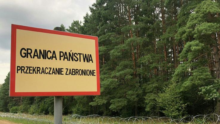Լեհաստան-Բելառուս սահմանին հայտնաբերել են միգրանտների դիեր