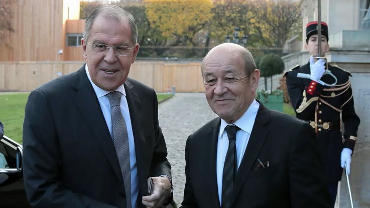 Ֆրանսիայի ԱԳ նախարարը հայտարարել է Լավրովի հետ հանդիպման մասին
