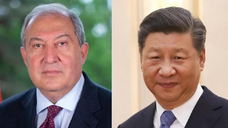 Պատրաստ եմ Ձեզ հետ միասին ջանքեր գործադրել՝ խորացնելու քաղաքական փոխվստահությունը. Չինաստանի նախագահ Սի Ծինփին
