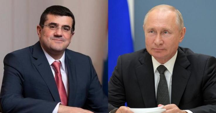Արցախի նախագահը շնորհավորել է ՌԴ նախագահին Պետդումայի ընտրություններում հաղթանակաի կապակցությամբ