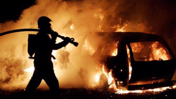 Տաթև-Կապան ավտոճանապարհին ավտոմեքենա է այրվել