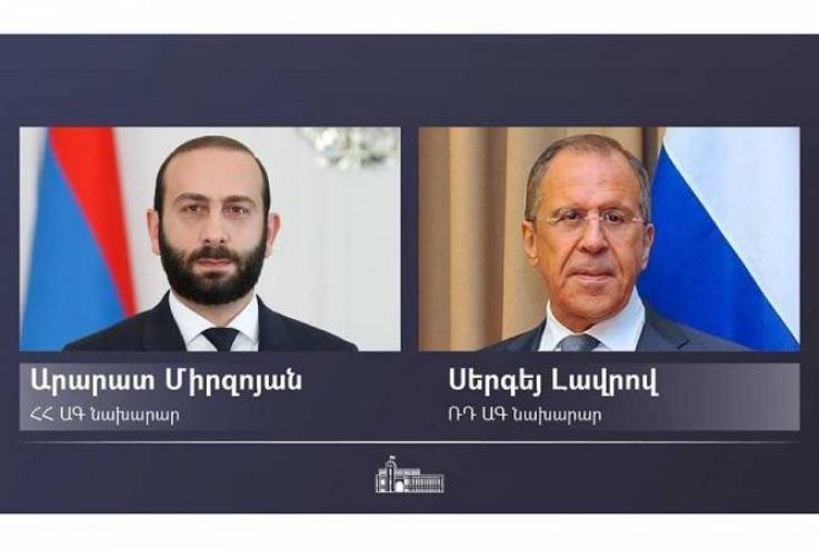 Սերգեյ Լավրովը շնորհավորել է Արարատ Միրզոյանին ՀՀ ազգային տոնի՝ Անկախության օրվա առթիվ