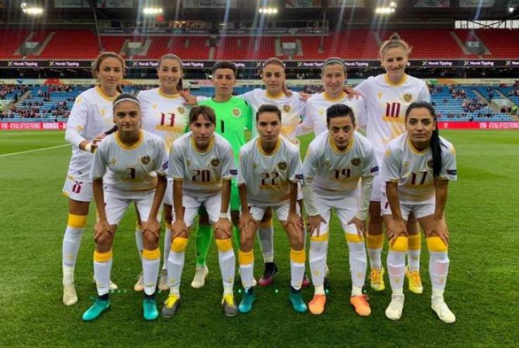 Կանանց ֆուտբոլի ընտրանին պարտվեց նաև Երևանում