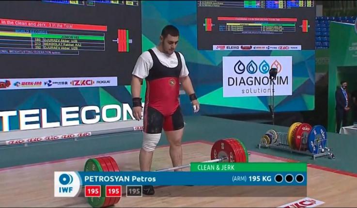 Պետրոս Պետրոսյանը հերթական մեդալը բերեց Հայաստանի հավաքականին