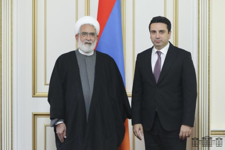 Իրանի գլխավոր դատախազը ՀՀ ԱԺ նախագահի հետ հանդիպմանը կարևորել է պայքարը ահաբեկչական խմբավորումների ներթափանցման դեմ