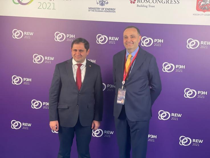 Սուրեն Պապիկյանը մասնակցում եմ Մոսկվայում անցկացվող «Ռուսաստանյան էներգետիկ շաբաթ» միջազգային համաժողովին