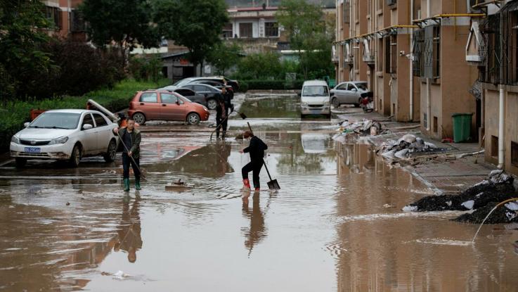 Չինաստանում ջրհեղեղների զոհ է դարձել 29 մարդ