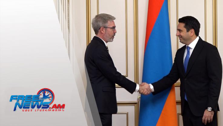 Շվեդիան Հայաստանի համար կարևոր և վստահելի գործընկերներից է. Ալեն Սիմոնյանն ընդունել է ՀՀ-ում Շվեդիայի դեսպանին