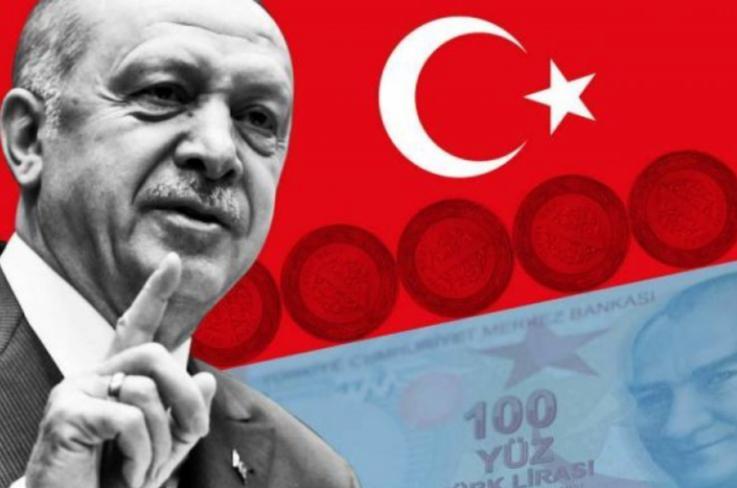 Էրդողանի որոշումից հետո թուրքական լիրան ռեկորդային անկում է գրանցել