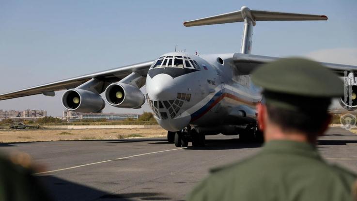 Ռազմատրանսպորտային ինքնաթիռով Հայաստան է տեղափոխվել «Սպուտնիկ-Վ» պատվաստանյութի հերթական խմբաքանակը
