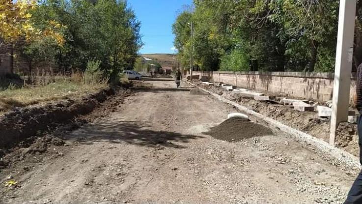 Սուբվենցիոն ծրագրով Մարալիկում, Ձորակապում և Սառնաղբյուրում փողոցների հիմնանորոգումներ են
