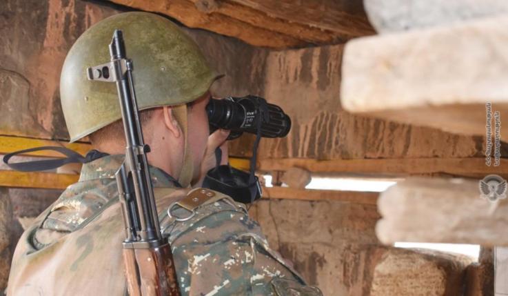 Լուրը, թե կրակոցից զոհվել է ադրբեջանի ԶՈՒ զինծառայող՝ կեղծ է և չի համապատասխանում իրականությանը․ ԱՀ ՊԲ