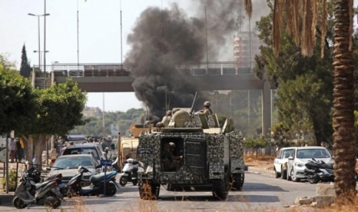 Լիբանանի բանակը ձերբակալել է Բեյրութի բախումների մեջ կասկածվող 9 մարդու