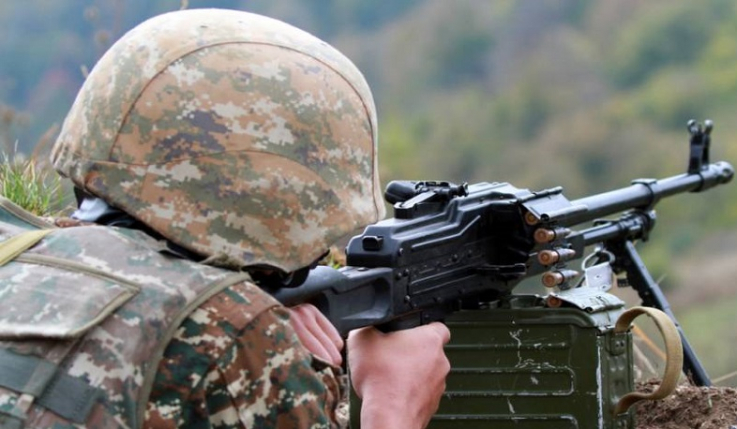 Ադրբեջանի ԶՈւ-ն խախտել է Արցախի Հանրապետության հետ շփման գծում հրադադարի պահպանման ռեժիմը